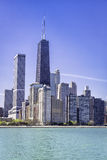 De stad in van Chicago Royalty-vrije Stock Foto