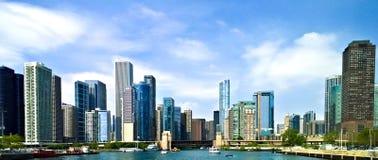 De stad van Chicago Stock Fotografie