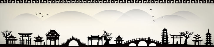 De stad van China
