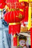 DE STAD VAN CHINA, BANGKOK, THAILAND - FEBRUARI 8.2017: Chinese lantaarns Stock Foto's