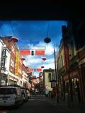 De stad van China in Melbourne royalty-vrije stock afbeelding