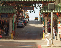 De Stad van China, San Francisco royalty-vrije stock foto