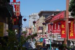 De Stad van China, San Francisco, Californië royalty-vrije stock fotografie