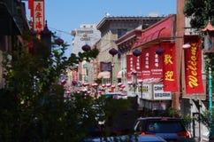 De Stad van China, San Francisco, Californië royalty-vrije stock afbeeldingen