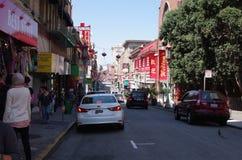 De Stad van China, San Francisco, Californië stock afbeelding