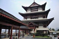De Stad van China Tchang-cha, de Chinese Bouw Royalty-vrije Stock Afbeelding