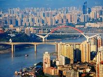 De stad van Chongqing royalty-vrije stock fotografie
