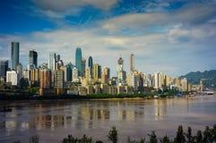 De stad van Chongqing royalty-vrije stock foto