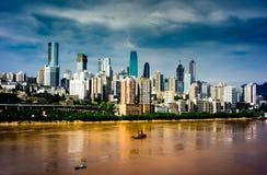 De stad van Chongqing stock foto