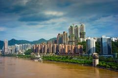 De stad van Chongqing stock foto's