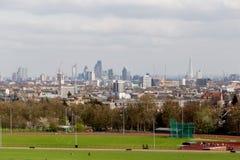 De Stad van Cityscape van Londen van Hampstead-Dopheide Royalty-vrije Stock Afbeelding