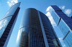 De Stad van commercieel Moskou van het Centrum. Royalty-vrije Stock Foto