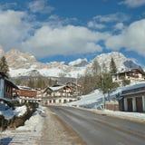 De stad van Cortina Stock Afbeeldingen