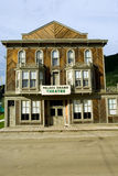De stad van Dawson stock foto's