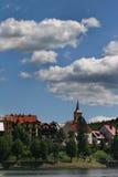 De stad van de berg Royalty-vrije Stock Afbeeldingen