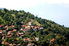 De stad van de berg Stock Foto