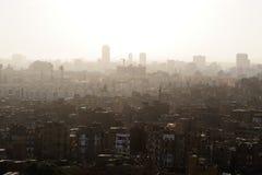 De stad van de binnenstad van Kaïro (Egypte) Royalty-vrije Stock Afbeeldingen