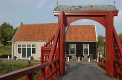 De stad van de de ingangsvesting van de ophaalbrug Royalty-vrije Stock Afbeelding