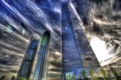 De stad van de droom Stock Foto's