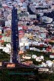 De stad van de hemel Stock Fotografie