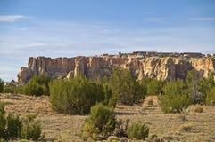 De Stad van de hemel - Acoma Pueblo in New Mexico royalty-vrije stock foto