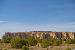 De Stad van de hemel - Acoma Pueblo in New Mexico stock afbeeldingen