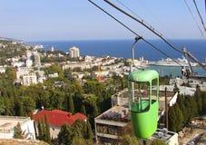 De stad van de Oekraïne Yalta Royalty-vrije Stock Afbeeldingen