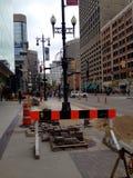 De stad in van de Stad van Winnipeg stock afbeelding