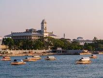 De Stad van de steen, Zanzibar Stock Foto