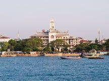 De Stad van de steen, Zanzibar Stock Foto's