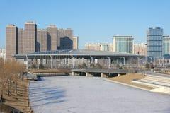 De stad van de winter Royalty-vrije Stock Fotografie