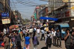 De Stad van Delhi Royalty-vrije Stock Foto