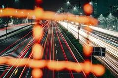 De Stad van Djakarta Stock Afbeeldingen
