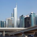 De Stad van Doubai Royalty-vrije Stock Afbeeldingen