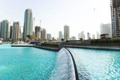 De Stad van Doubai, de V.A.E stock foto's