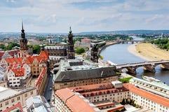 De stad van Dresden Royalty-vrije Stock Afbeelding