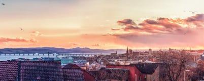 De stad van Dundee van vele ontdekking stock fotografie