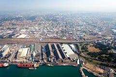 De stad van Durban van de binnenstad royalty-vrije stock afbeelding
