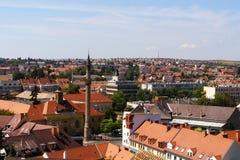 De stad van Eger Stock Foto's