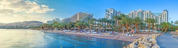 De stad van Eilat royalty-vrije stock afbeelding