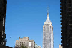 De Stad van Empire State Buildingmanhattan New York Stock Fotografie