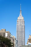 De Stad van Empire State Buildingmanhattan New York Royalty-vrije Stock Fotografie