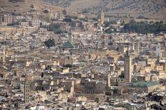 De stad van Fes Stock Foto's