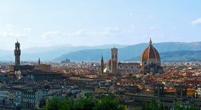 De stad van Florence royalty-vrije stock foto