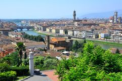 De stad van Florence, Italië royalty-vrije stock afbeelding