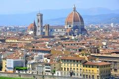 De stad van Florence, Italië stock foto