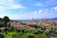 De stad van Florence, Italië stock fotografie