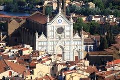 De stad van Florence stock foto's