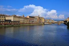 De stad van Florence tegen dag Royalty-vrije Stock Foto