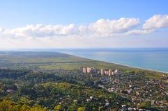 De stad van Gagra Abchazië Royalty-vrije Stock Afbeeldingen
